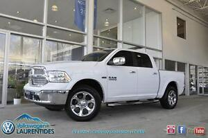 **RAM 1500 LARAMIE**GPS**4X4**CREW**SUSPENSION À AIR**TOIT**UCON