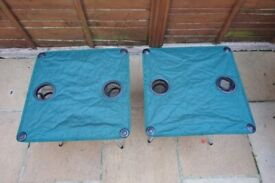 Camping/Picnic Tables each with two Cup Holders