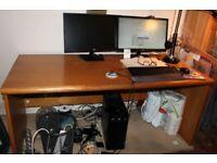 Huge oak desk