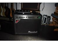 Randall RG50TC tube combo amplifier with footswich and Wah pedal. Trades considered