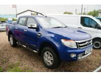 Ford Ranger Limited 4x4 Dcb Tdci (blue) 2013