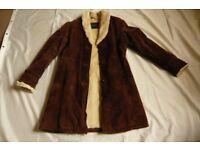 Coat size M, SIZE 12
