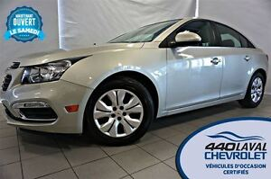 2015 Chevrolet Cruze LT*TURBO*BLUETOOTH*CAMÉRA*