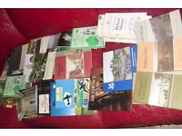 VERY LARGE COLLECTION OF BOOKS ON PLACES TO VISIT + NATIONAL TRUST PLACES