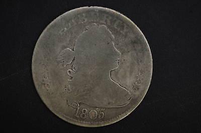 1805  G-   Draped Bust Quarter    Rare Type Coin