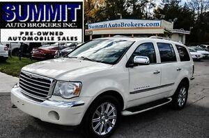 2008 Chrysler Aspen Limited | 8 PASSENGER | LEATHER | DVD | BACK