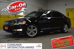 2013 Volkswagen Passat 3.6L Highline LEATHER SUNROOF NAV REMOTE
