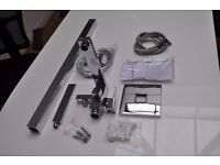 BRAND NEW Free Standing Bathroom Tap With Shower Hose & Fittings