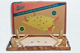 Rollet traditional wooden table top game - New, unopened