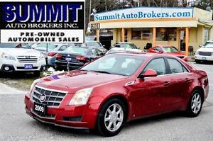 2009 Cadillac CTS 4   AWD   LEATHER   POWER HEATED SEATS   BLUET