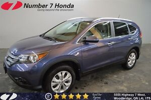 2014 Honda CR-V Touring| Loaded, Leather, Navi, All-Wheel Drive!