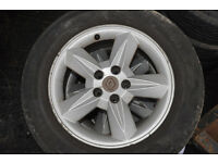 RENAULT SCENIC RX4 ALLOY WHEELS AND TYRES x5