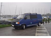 VW Camper T4 Transporter - SWB Indian Blue 2001