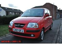 HYUNDAI AMICA 1.1 CDX 5DR PETROL (LOW MILES, PART SERVICE HISTORY)