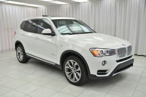 2017 BMW X3 28i X-Drive SUV w/ NAV, PANO ROOF, REAR CAMERA