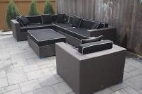 Wicker Direct sectional