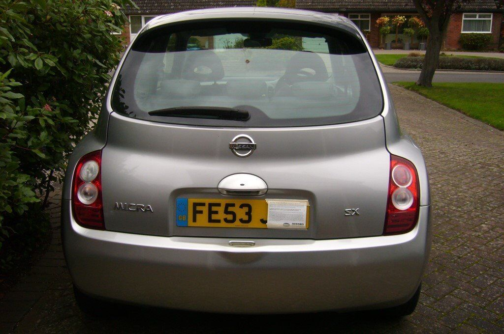 NISSAN MICRA 1.4 SX 2003 (53) 81000 MILES ONLY FSH