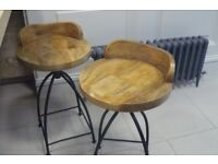 Imported stools from Germany