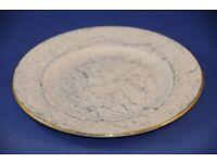 Vintage Royal Albert Bone China Harlequin Tea Set Grey Marbled Gossamer Tea Plate Replacement China