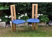 Scandinavian Designer Chairs (Chrome & Wood)