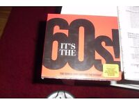 NEW STILL SEALED 60'S CD (THE LATEST ONE) 3 CD'S WITH 22 TACKS ON EACH