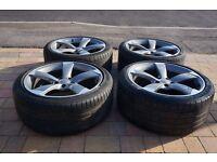 Audi Rotor Alloy Wheels Alloys A3 A4 A5 A6
