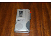 Sanyo TRC-530M Handheld Talkbook Microcassette Voice Recorder