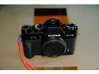 Fujifim X-T10 body only **MINT CONDITION** NO TEXTS WILL BE ANSWERED