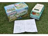 Sylvanian Families Campervan Boxed (Sylvanian Mouse Family NOT included see separate listing)