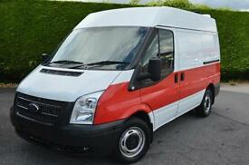 FORD TRANSIT 260 VAN FIBREGLASSED FSH AIR-CON (white) 2012