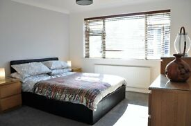 Large Double bedroom with new ensuite shower room to rent within a 3 bedroom house