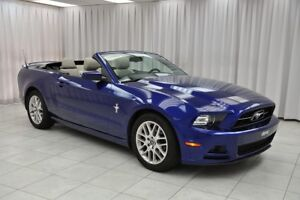 2014 Ford Mustang 3.7L V6 4PASS PREMIUM CONVERTIBLE COUPE w/ BLU