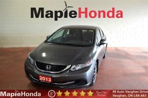 2013 Honda Civic EX|7 Year/160K Warranty,Sunroof,Alloys,Bluetoot