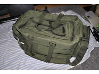 Protex Carp catch Fishing Large Holdall Bag Padded strap selling all equipment