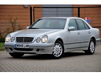 2000 Mercedes-Benz E Class 2.4 E240 Elegance +AUTOMATIC+4 DOORS +12 MONTHS MOT+LOW GENUINE MILEAGE