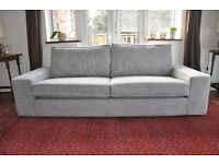 A 3 seater IKEA Kivik contempary sofa in excellent condition.Hardly used relocation forces sale