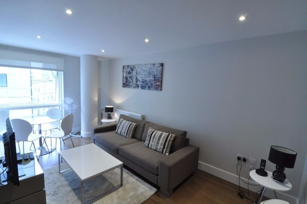 Modern furnished 1 bedroom City View flat