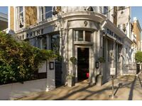 Kitchen Porter - Famous Chelsea Pub & Restaurant looking for our next great KP!