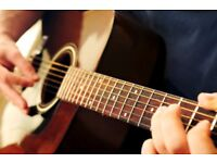 Beginner Guitar Lessons - acoustic, electric and bass (£15 per hour)