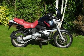 BMW R1100 GS with VERY LOW MILEAGE !