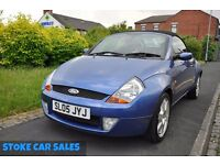 FORD STREET KA 1.6 LUXURY 2DR PETROL (PART SERVICE HISTORY)