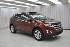 2016 Ford Edge SEL ECOBOOST AWD SUV w/ BLUETOOTH, HEATED LEATHER