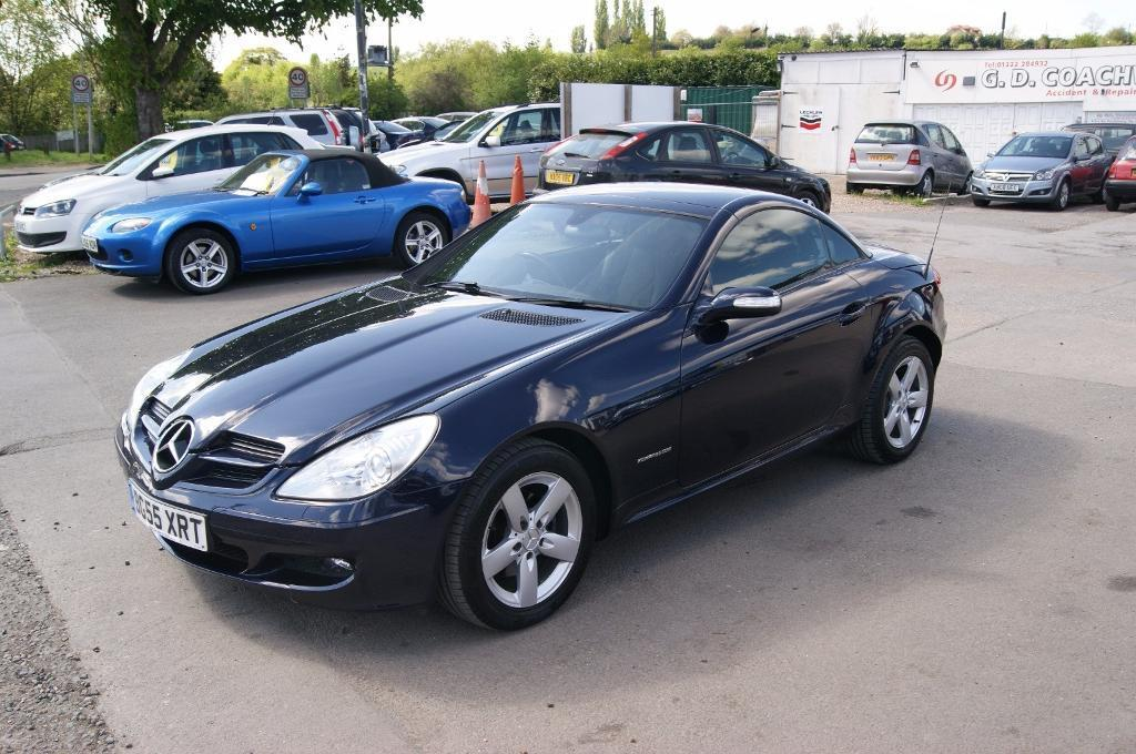 mercedes benz slk slk200 kompressor blue 2005 in dartford kent gumtree. Black Bedroom Furniture Sets. Home Design Ideas