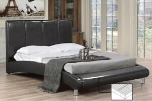 PLATFORM BED FRAME QUEEN - GIVE CONTEMPORARY TOUCH TO YOUR BEDROOM (BD-1042)