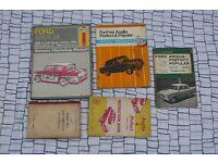 Ford workshop manuals escort rs transit popular fiesta v6 thames anglia granada consul zephyr zodiac