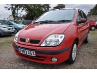 RENAULT SCENIC 1.6 16V EXPRESSION 5DR PETROL (PART SERVICE HISTORY)