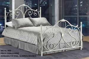 METAL BEDS ON SALE (AD 147)
