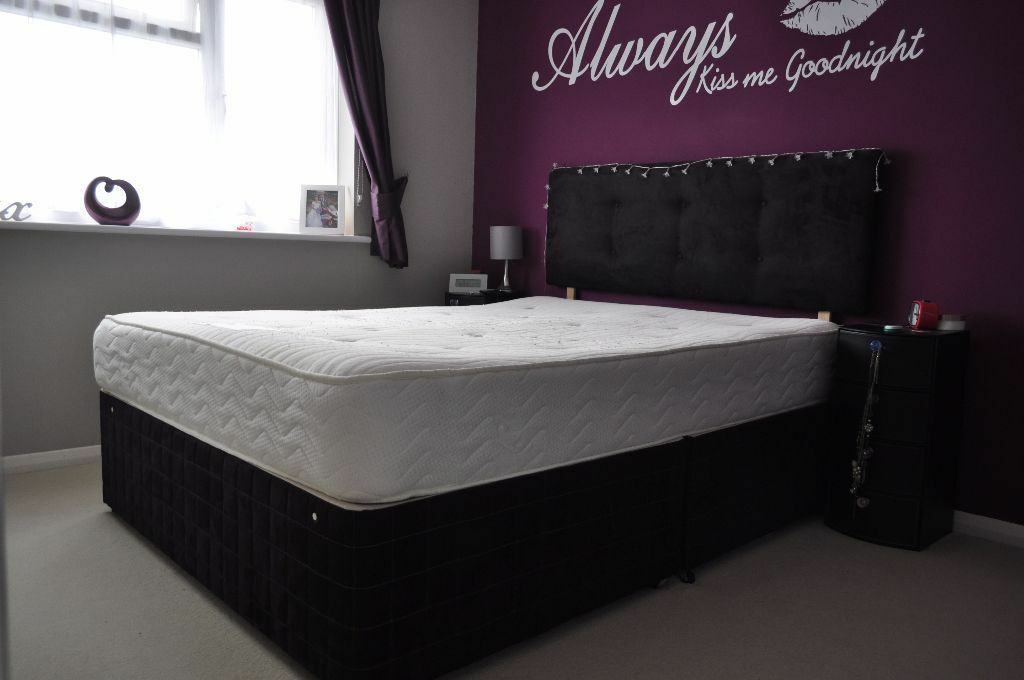King Size Divan Bed With Headboard In Herne Bay Kent Gumtree