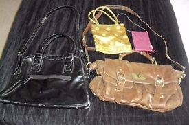 SELECTION OF LADIES BAGS VARIOUS STYLES