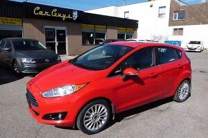 2015 Ford Fiesta Titanium - Sunroof, Navi, BU Cam, Heated Seats